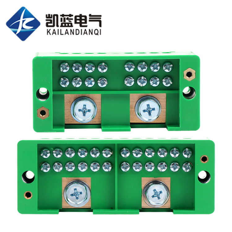 CHKL Junction box wire splitter two in eight out twelve out terminal fj6 paralleler 220 V household