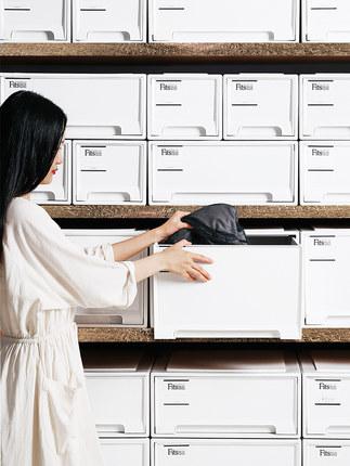 Thùng nhựa Nhật Bản Tianma hộp lưu trữ quần áo ngăn kéo .