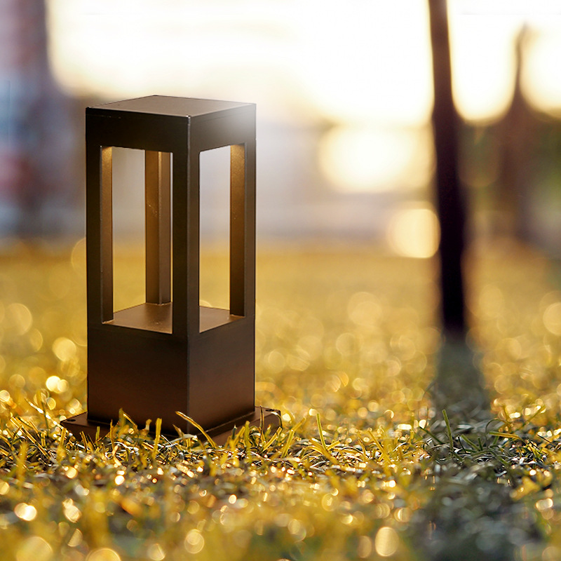 VINCAN Modern simple and fashionable column lamp head lamp lawn courtyard landscape lamp garden vill