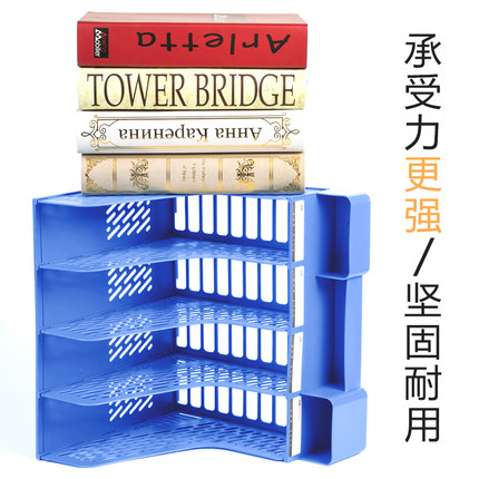 Thị trường Đồ dùng văn phòng Giá đựng tập tin hộp đựng hồ sơ nhiều lớp bốn cột khay đựng đồ dùng văn