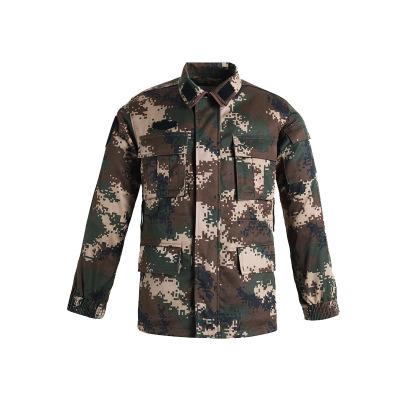 Áo nguỵ trang lính Phiên bản phân bổ bán buôn của đồng phục ngụy trang mùa đông ngụy trang mới, quần