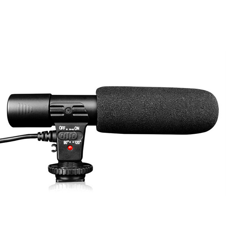 Explosive MIC-01 SLR camera DV stereo microphone camera professional interview news recording microp