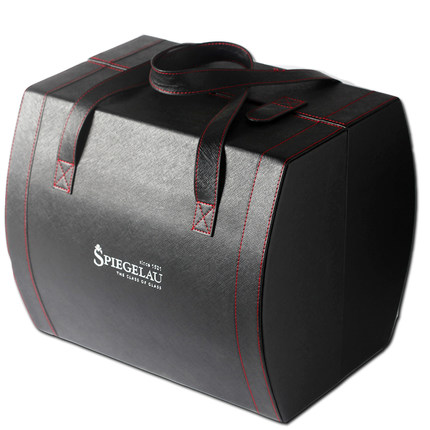 Hộp da  Spiegelau 6 hộp rượu vang đỏ hộp thủy tinh hộp da hộp đựng hành lý ô tô xách tay hộp đựng đ