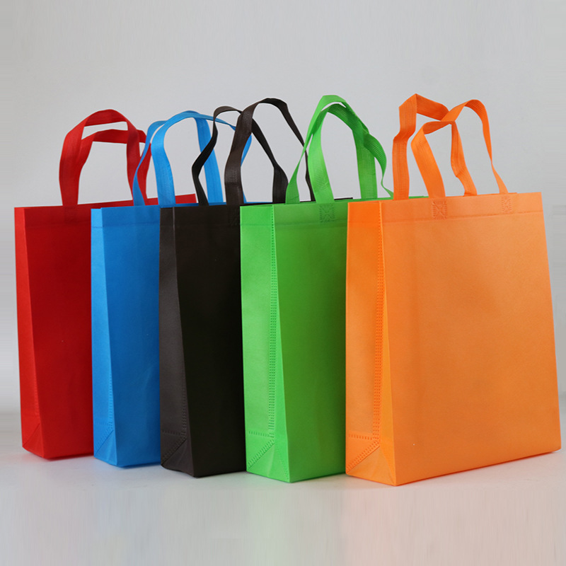 Exquisite Spunlaced non-woven bag customized advertising promotion gift shopping bag three-dimension