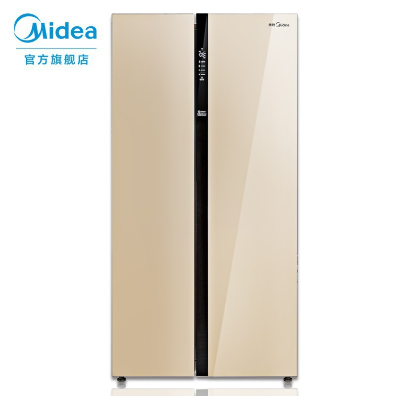 Midea bcd-520wkm (E) refrigerator double door 520l computer controlled temperature air cooling frost