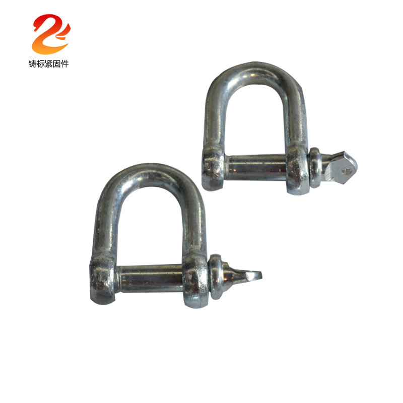 ZHUBIAO Cast standard sales national standard stainless steel U-shaped ring hook sling lifting shack