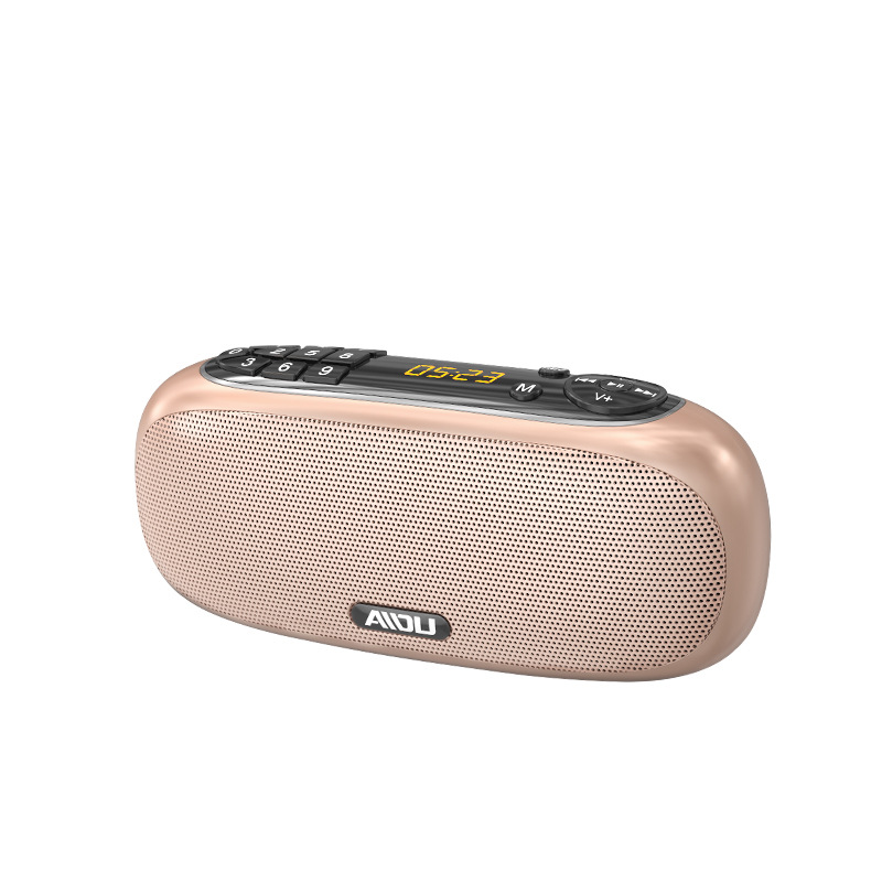 AIDU q22 Bluetooth speaker radio portable Walkman music player charging card small audio
