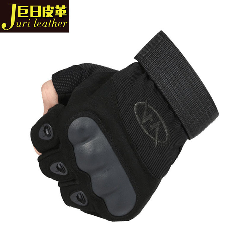 Outdoor tactical gloves training sports Half Finger Gloves fitness protection anti slip gloves ridin