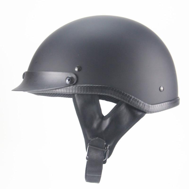 AHP Harley retro half helmet male and female battery car helmet Harley electric scooter semi covered