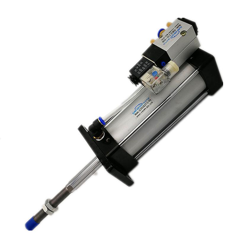 JUNJIEQD Cylinder with solenoid valve scf32 scf40 scf50 scf63 scf80 scf100