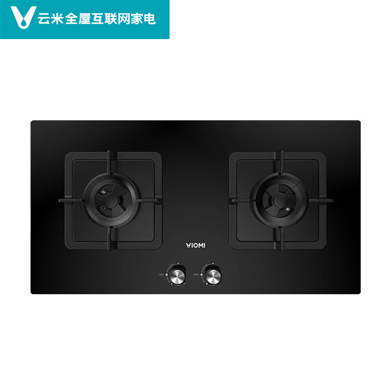 Viomi cloud rice internet intelligent gas stove power 5.2 gas stove large fire stove dual stove