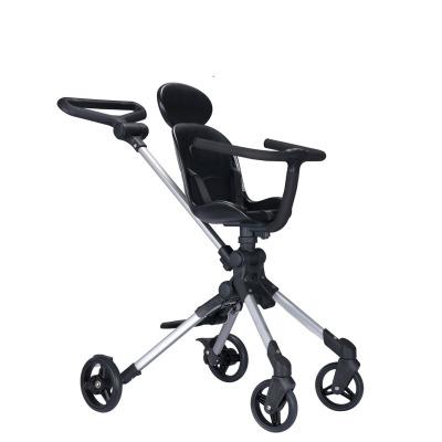 Xe đẩy trẻ em siêu nhẹ hai chiều thiết kế gọn gàng .