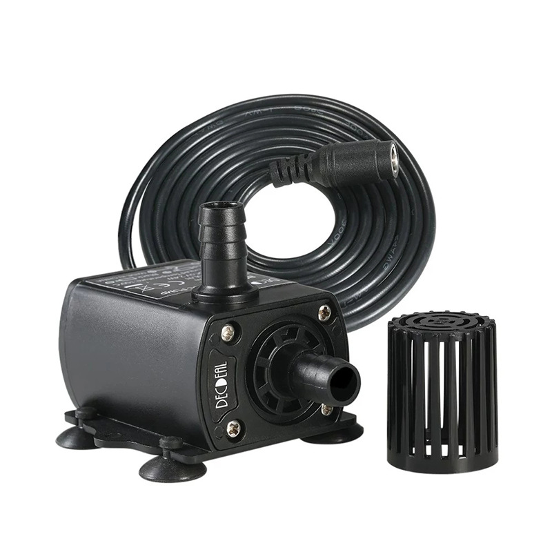 Micro DC brushless water pump computer water cooling cycle DC female plug in Water Pump Fountain Pum