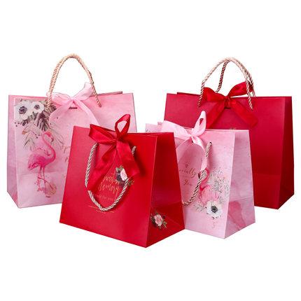 Túi giấy đựng quà  Hộp kẹo cưới hộp quà hộp tote túi đựng quà lưu niệm cao cấp túi quà sinh nhật trả