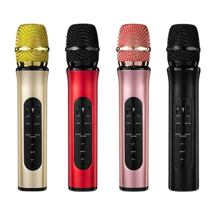 MOQU New K6L Bluetooth wireless microphone mobile computer TV sound card live audio car microphone K
