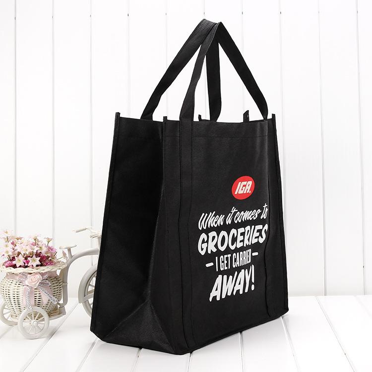 YUNSHENG Hand made non woven bag customized silk screen advertising publicity non woven bag sewing g
