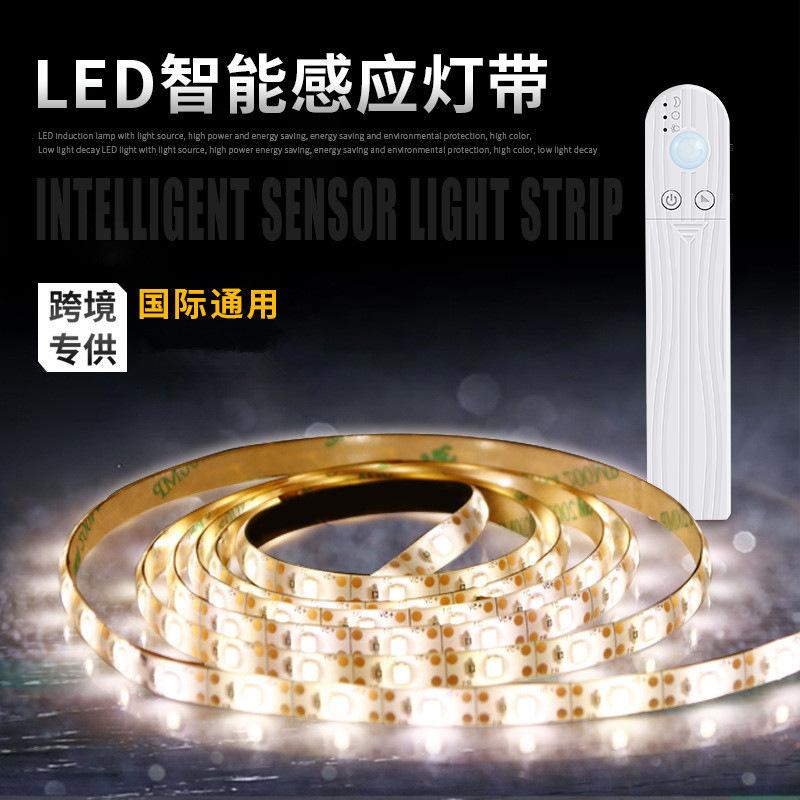 Human intelligent induction LED lamp with battery box light bar 2835 cabinet light bar