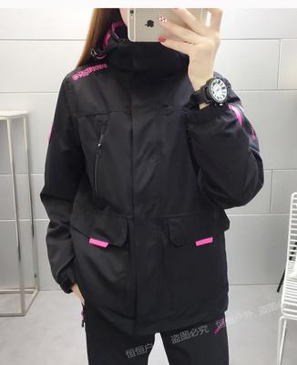 Quần áo leo núi Áo khoác phù hợp với nam giới và phụ nữ ba trong một có thể tháo rời hai mảnh quần á