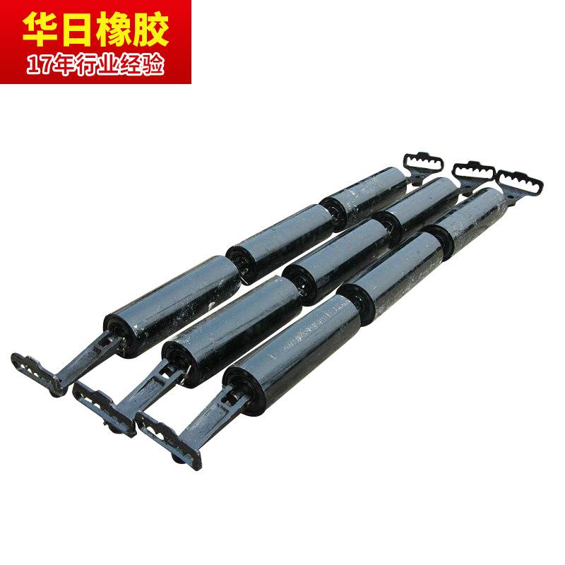 HUARI Conveyor trough idler spiral idler cleaning idler high efficiency wear-resistant model complet