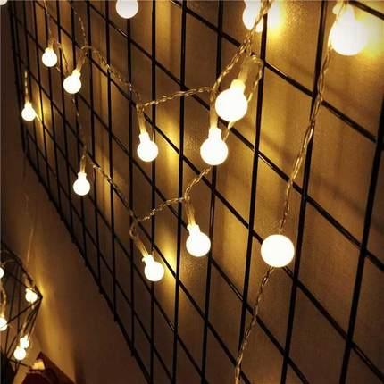 Bóng đèn LED Bóng đèn LED bóng đèn nhỏ đèn lồng nhấp nháy ánh sáng dây đèn trang trí đám cưới ánh sá