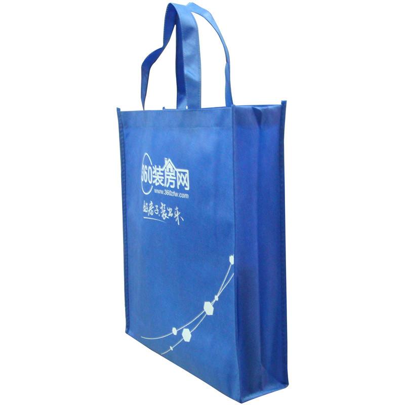 YUTAO Brand new material Royal Blue 80g printable logo environmental protection non woven shopping p