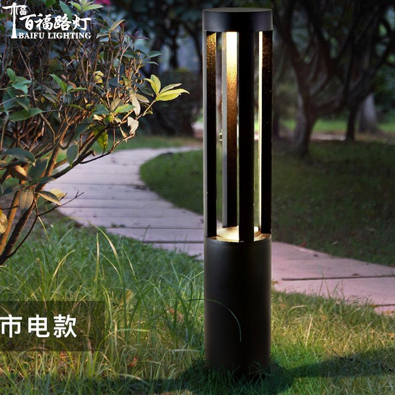 BF Solar lawn lamp outdoor community park garden villa lawn lamp LED lawn lamp
