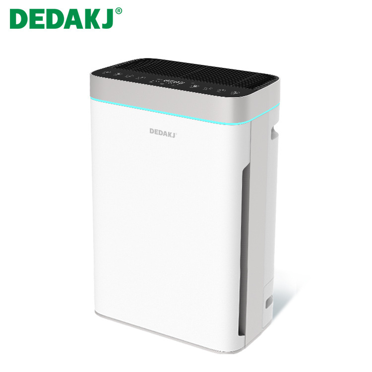 DEDAKJ Air purifier eliminates formaldehyde haze allergen bacteria household bedroom quiet intellige