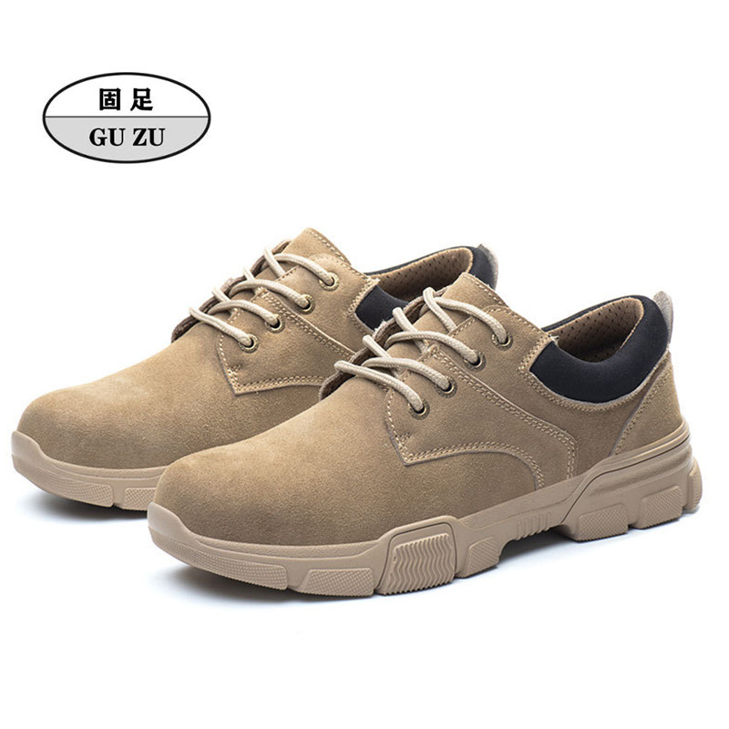Anti smashing, anti puncture, anti-static, wear-resistant, oil resistant safety protective shoes, in