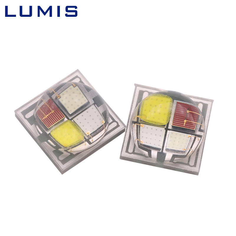 Ceramic 5050rgbw high power stage light source four in one color 5W 10W LED lamp beads