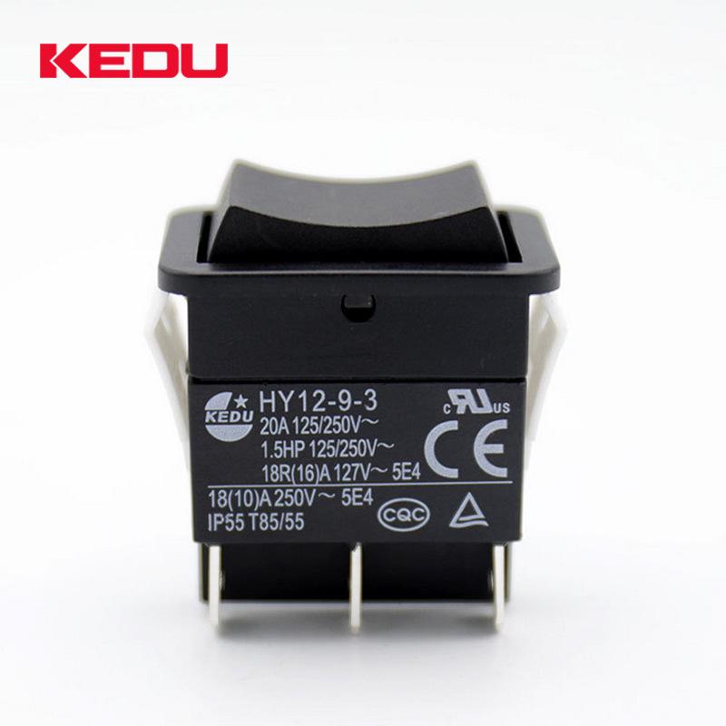 Kedu arc button switch hy12-9-3 ship type button switch