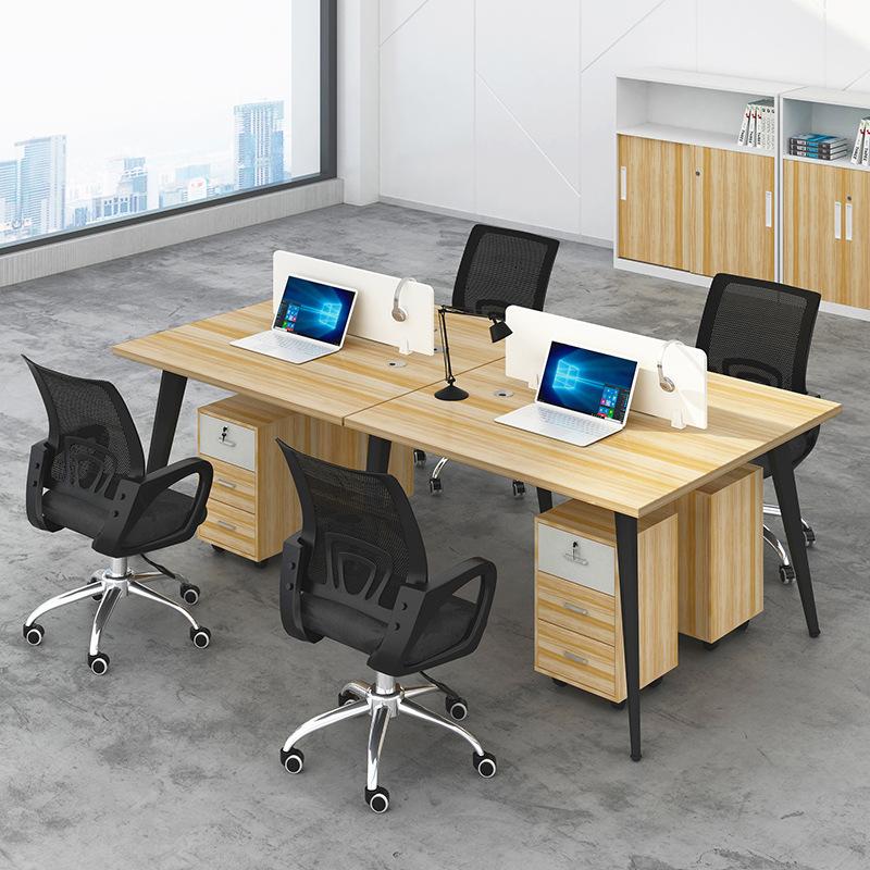 Staff desk combination desk staff simple office furniture computer desk screen office desk card posi