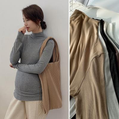 PUPU Trang phục bầu Năm 2020 người phụ nữ mang Thai với mùa thu và mùa đông hàn quốc phiên bản cao m