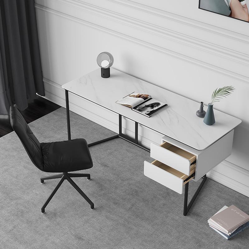 FANMENGER Nordic minimalist desk Italian slate desk writing desk study furniture combination creativ
