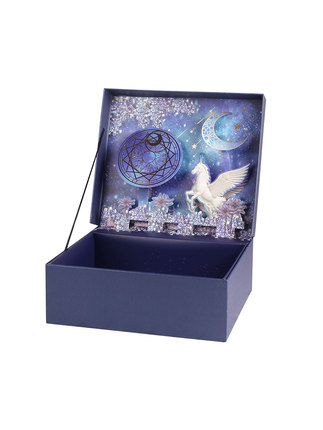 Hộp giấy bao bì  Hộp quà giáng sinh phong cách tinh tế sáng tạo hộp quà sinh nhật hàn quốc hộp hộp h