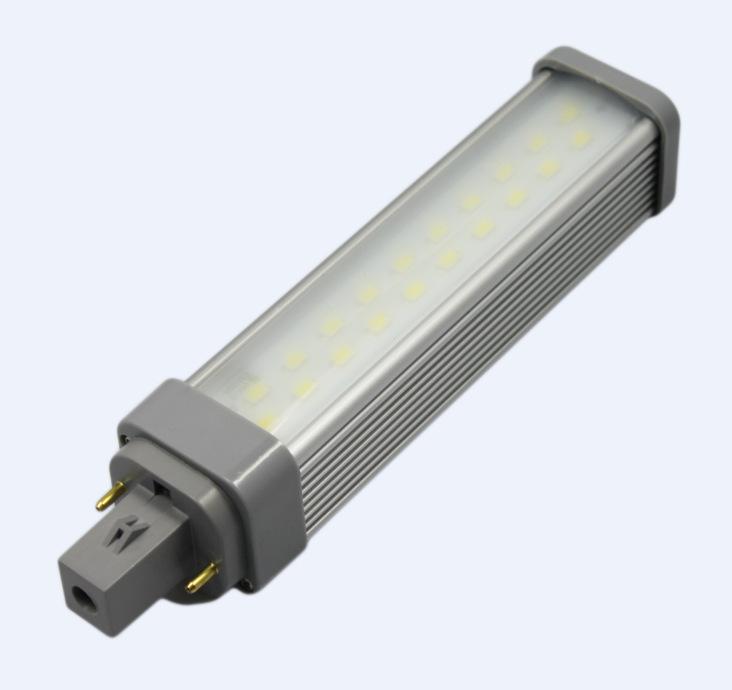 G24 / E27 selection for G24 plug-in tube of LED horizontal plug lamp