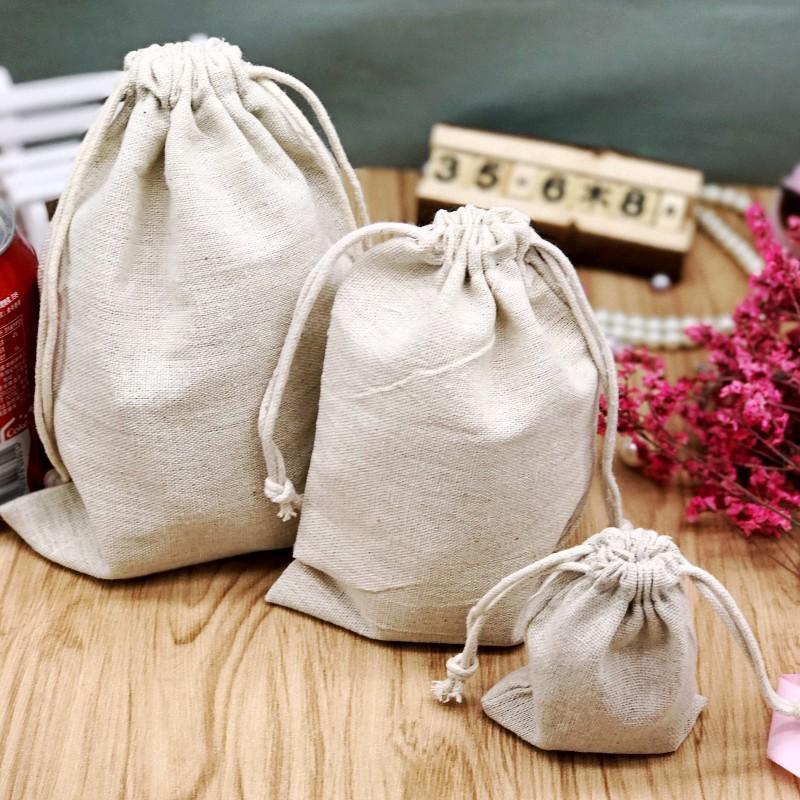 ZHIKU Brown comb drawstring bag creative tufted cloth bag custom jewelry gift jewelry storage bag pr