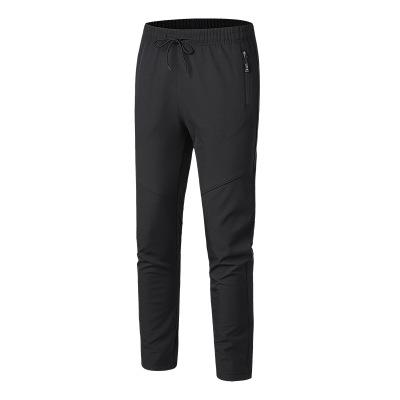 Quần áo leo núi Nhóm mua logo tùy chỉnh ngoài trời quần tấn công thẳng chống gió lạnh cộng với nhung