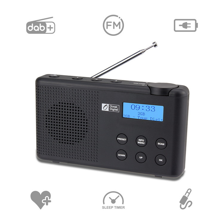 Ocean Digital Haixian db-23 DAB + FM digital radio DAB radio