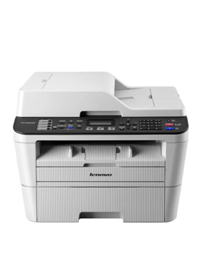 Lenovo m7455dnf black and white laser printer copy scan fax all in one machine double sided + wired