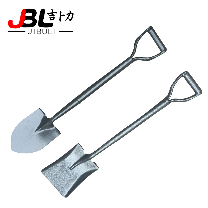 FENGXIANG Garden Hardware all steel military iron handle steel spade pointed spade military square s