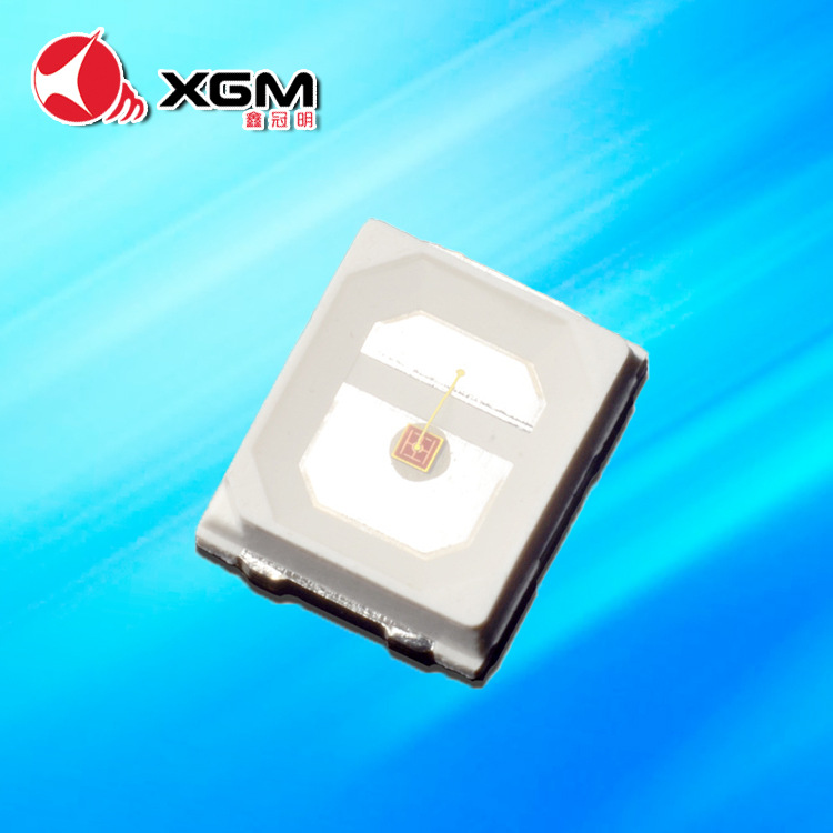 XGM Shenzhen manufacturer 2835 red light 2835 red light 0.2W 60mA 2835 red light patch LED chip