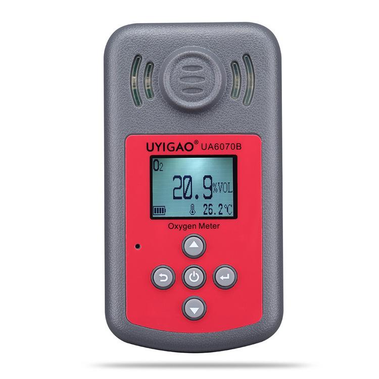 UYIGAO Youyigao ua6070b high precision oxygen detector gas detector leak detector O2 tester
