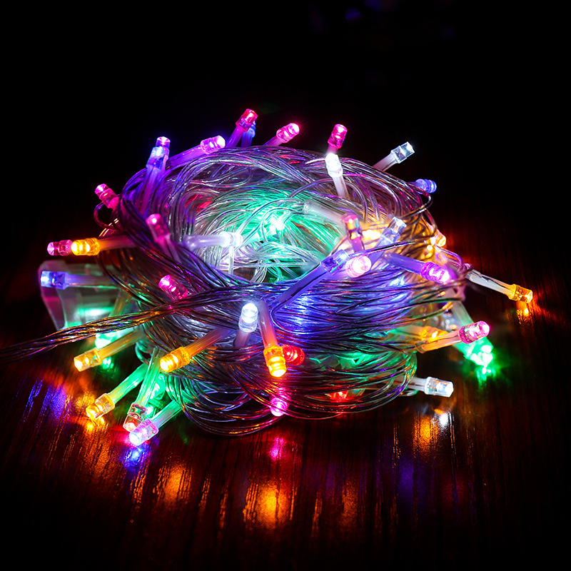 XINGJU Wedding and festival decoration LED string lights flashing lights outdoor waterproof lights a