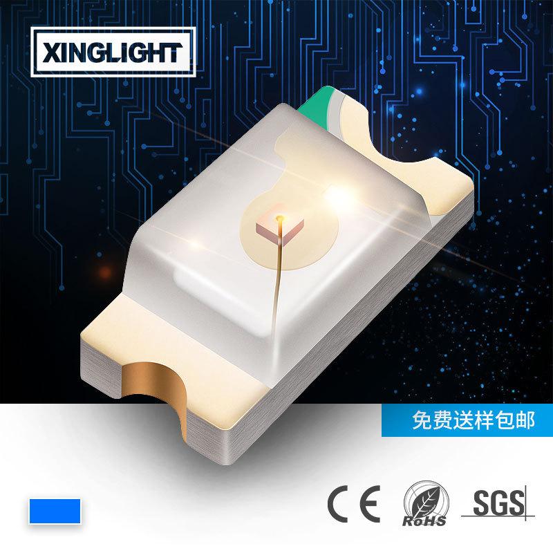 XINGLIGHT 0603led lamp bead blue light highlight 0603 blue lamp SMD LED chip