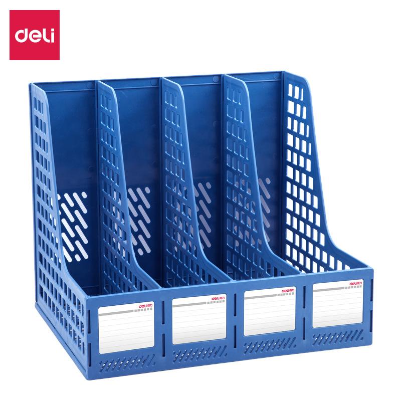 Deli document management rack 33777 quadruple file frame data frame file column file rack office sup