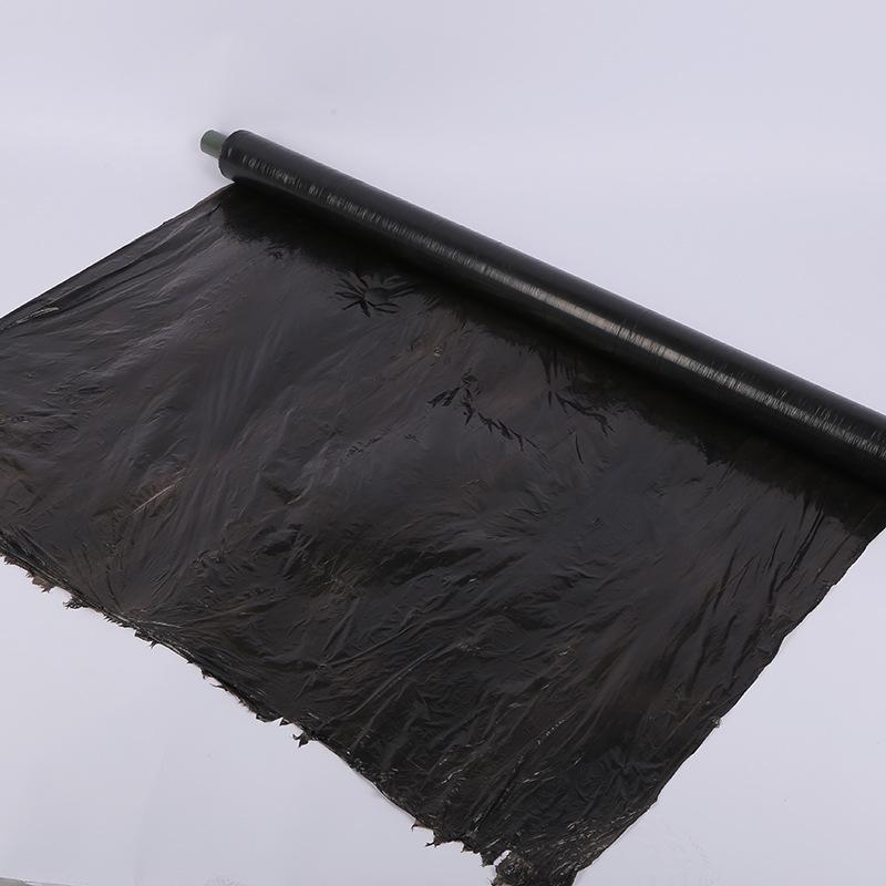 SENMAO New black plastic film PE plastic film specifications varied agricultural film insulation wee