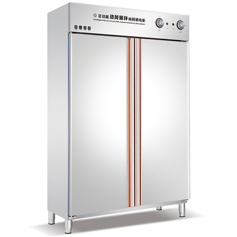 High temperature disinfection cabinet commercial double door hot air circulation disinfection cabine