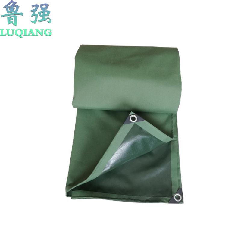 LUQIANG Tarpaulin manufacturer waterproof silicone single coated canvas tarpaulin single coated tarp