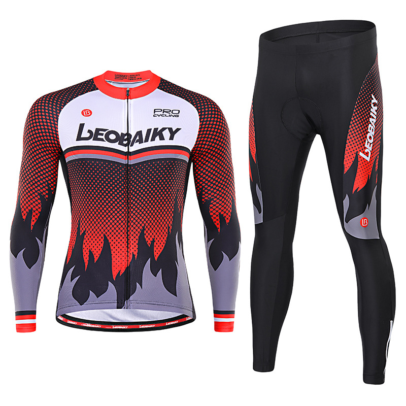 Trang phục đua xe đạp : Bộ đồ thun thể thao tay dài