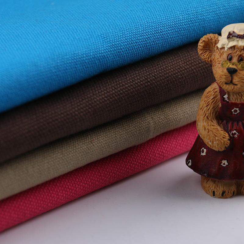 39 * 21 all cotton pillow bag fabric 16A spot cotton canvas 10s / 3 * 10s / 3 canvas